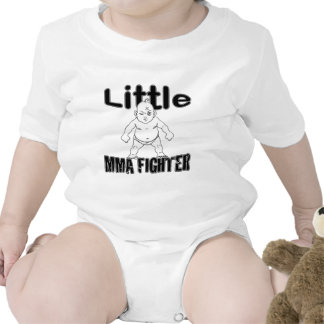 Little MMA Fighter Martial Arts Baby Baby Bodysuits