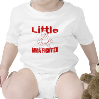 Little MMA Fighter Martial Arts Baby Bodysuits