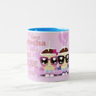 Little Mocha Frappe Love Two-Tone Coffee Mug