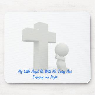 LITTLE MODERN ANGEL PRAYING MOUSEPAD