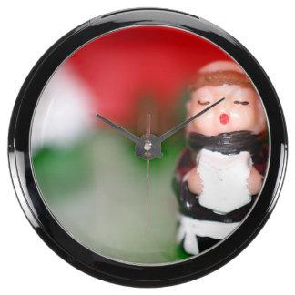 Little Monk Aqua Clock