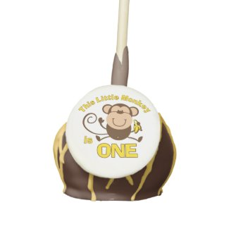 Little Monkey 1st Birthday Boy