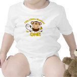 Little Monkey 1st Birthday Boy Infant Creeper