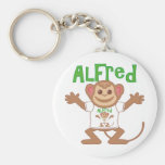 Little Monkey Alfred Key Chains