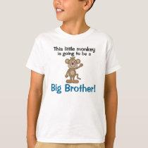 Little Monkey Big Brother T-Shirt