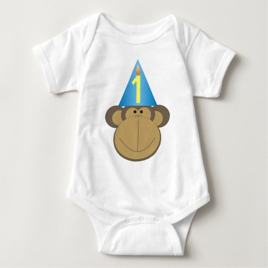 Little Monkey Birthday Shirt