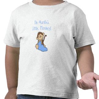 Little Monkey Blue T-shirts y regalos de tía Camisetas