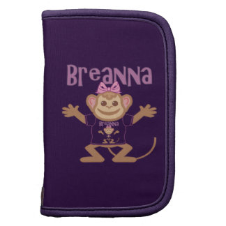 Little Monkey Breanna Folio Planners