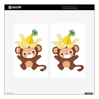 Little Monkey  Collection 101 Kindle Fire Skins