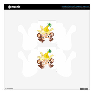 Little Monkey  Collection 101 Skins For PS3 Controllers