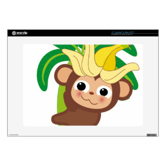Little Monkey Collection 105 Decals For Laptops