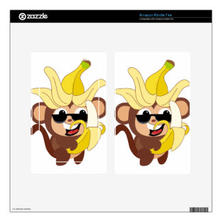 Little Monkey Collection 106 Decals For Kindle Fire