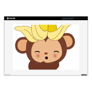 Little Monkey Collection 108 Decal For Laptop