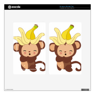 Little Monkey Collection 108 Kindle Fire Decals