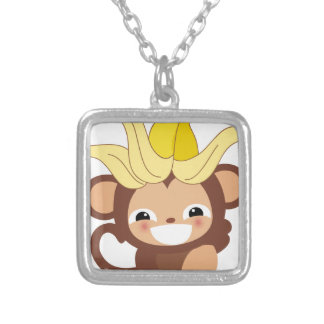 Little Monkey Collection 111 Silver Plated Necklace