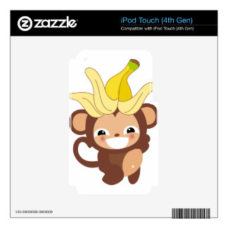 Little Monkey Collection 111 Skin For iPod Touch 4G