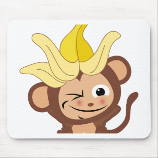 Little Monkey Collection 113 Mouse Pad
