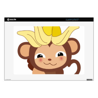 """Little Monkey Collection 115 15"""" Laptop Skins"""