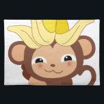 "Little Monkey Collection 115 Cloth Placemat<br><div class=""desc"">Little Monkey Collection 115</div>"