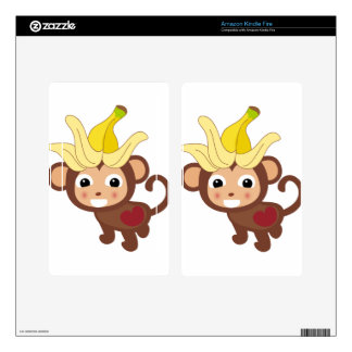 Little Monkey Collection 116 Kindle Fire Skin