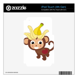 Little Monkey Collection 116 Skin For iPod Touch 4G