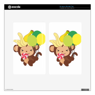 Little Monkey Collection 118 Kindle Fire Decal
