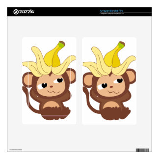 Little Monkey Collection 119 Kindle Fire Skins