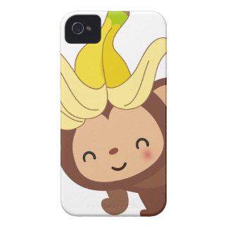 Little Monkey Collection 120 iPhone 4 Case