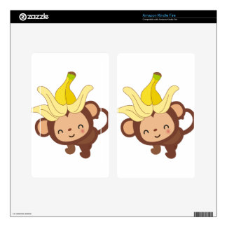 Little Monkey Collection 120 Kindle Fire Skin