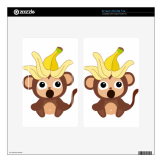 Little Monkey Collection 121 Kindle Fire Skin