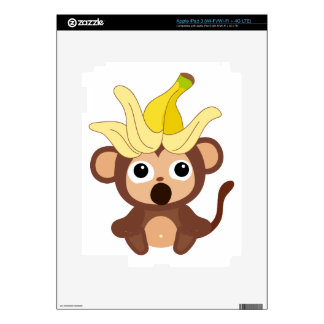 Little Monkey Collection 121 Skin For iPad 3