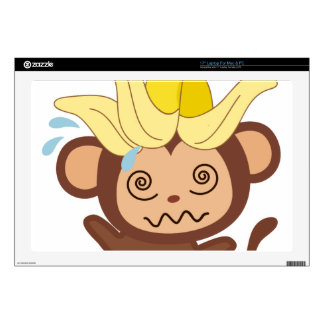 """Little Monkey Collection 122 17"""" Laptop Decal"""