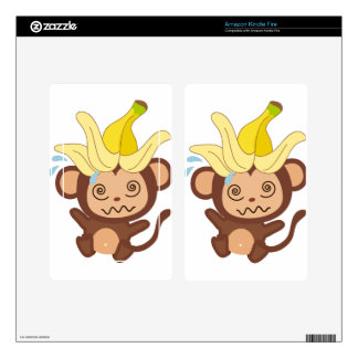 Little Monkey Collection 122 Skin For Kindle Fire