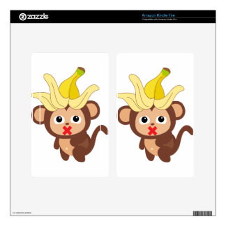 Little Monkey Collection 123 Kindle Fire Skins