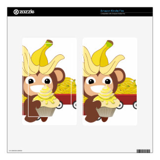 Little Monkey Collection 125 Kindle Fire Skins