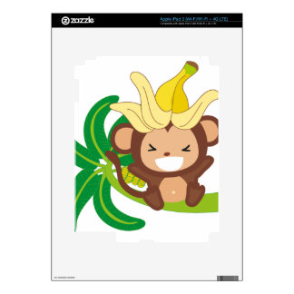 Little Monkey Collection 126 iPad 3 Decal