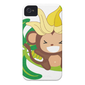 Little Monkey Collection 126 iPhone 4 Cover