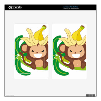 Little Monkey Collection 126 Skin For Kindle Fire