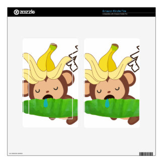 Little Monkey Collection 127 Kindle Fire Skins