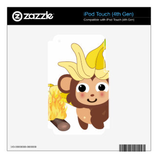 Little Monkey Collection 128 iPod Touch 4G Skin
