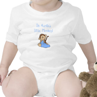 Little Monkey de tía Traje De Bebé