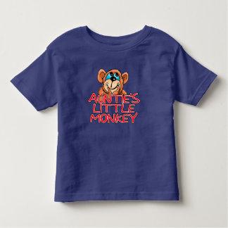 Little Monkey de tía T Shirt