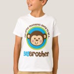 Little Monkey Going To Be A Big Brother T-Shirt