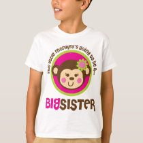 Little Monkey Going To Be A Big Sister T-Shirt