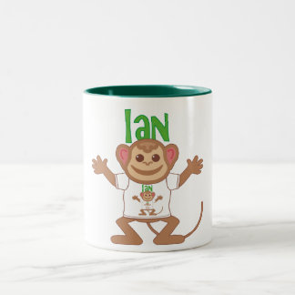 Little Monkey Ian Coffee Mug