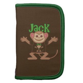 Little Monkey Jack Folio Planners