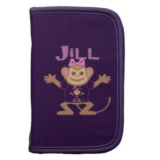 Little Monkey Jill Folio Planner