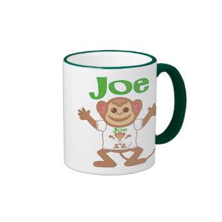 Little Monkey Joe Ringer Mug