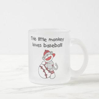 Little Monkey Loves Baseball  T-shirts and Gifts Coffee Mugs