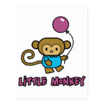 Little Monkey Postcard